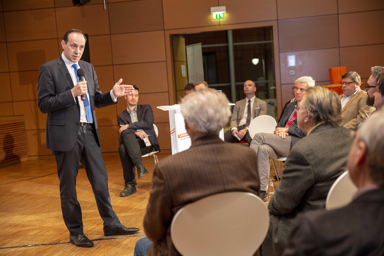 Ingo Senftleben auf der Regionalkonferenz in Elbe-Elster