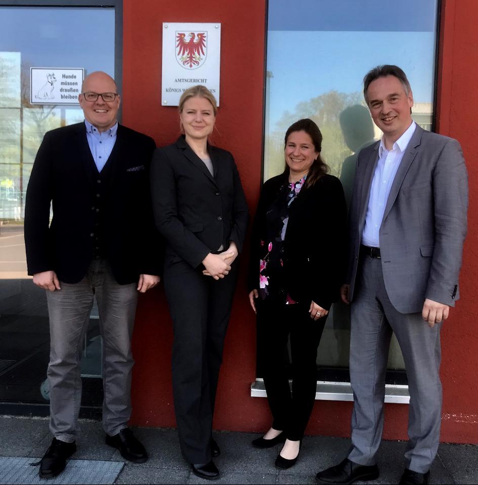 18.4.2019 Besuch des Amtsgerichtes Königs-Wusterhausen