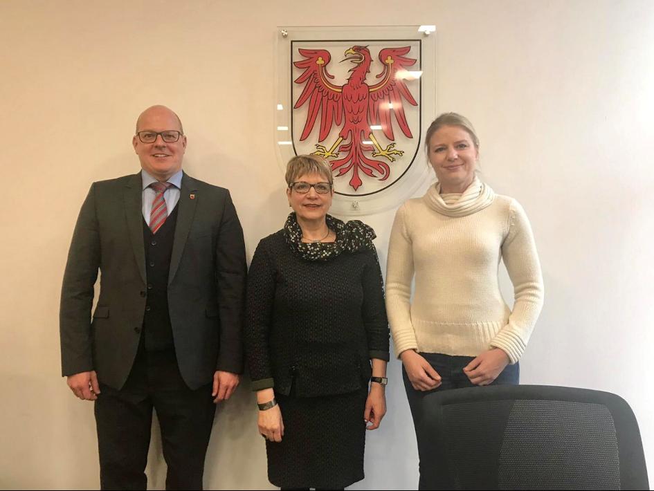 21.2.2019 Besuch des Landgerichtes Potsdam