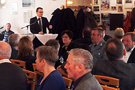 Der stellv. Landesvorsitzender Dr. Jan Redmann, begrüßte Jens Koeppen MdB und Gordon Hoffmann MdL