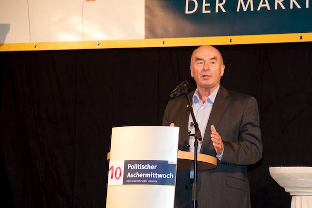 Ehrenvorsitzender Jörg Schönbohm hielt die Festrede