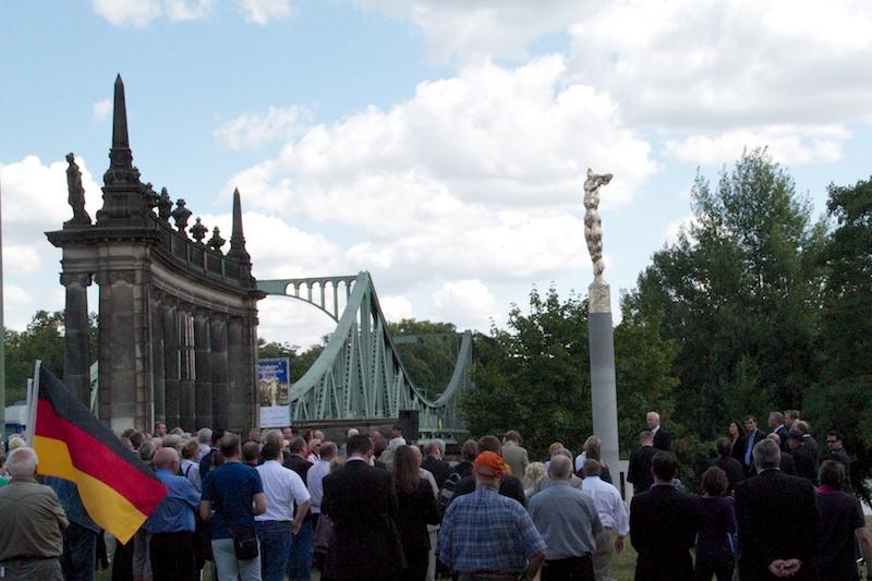Veranstaltung der CDU Berlin und Brandenburg an der Glienicker Brücke