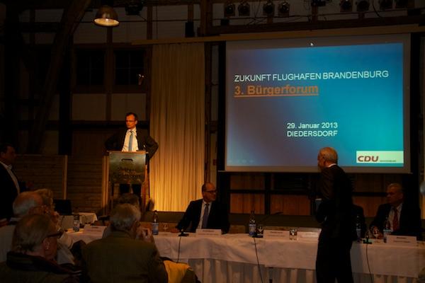 Landesvorsitzender der CDU Brandenburg, Prof. Dr. Michael Schierack