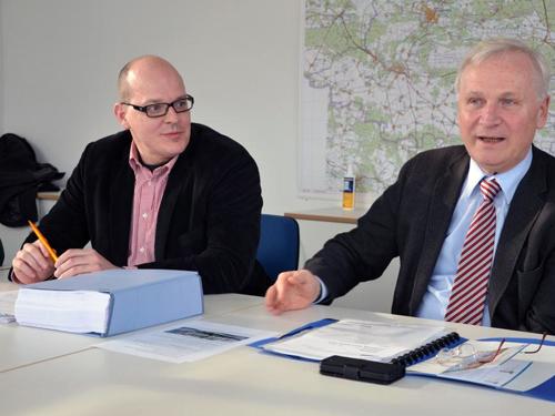 Danny Eichelbaum MdL und Fraktionsvorsitzender Dieter Dombrowski