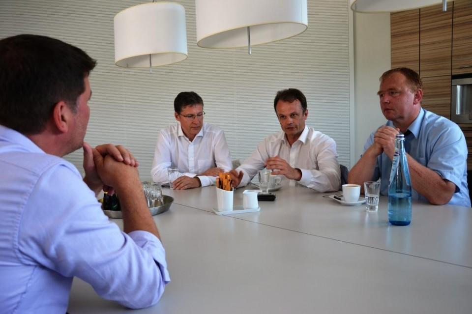Jens Koeppen MdB und Landesvorsitzender Michael Schierack MdL