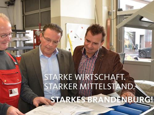 Dialogpapier und Diskussionsplattform vorgestellt: Michael Schierack, Dierk Homeyer und Frank Bommert