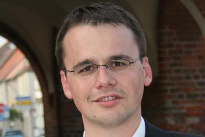 Dr. Jan Redmann, stellvertretender Landesvorsitzender