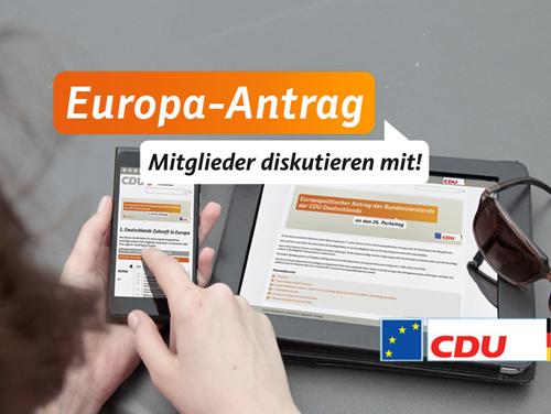 Im Mitgliedernetz CDUplus mitdiskutieren