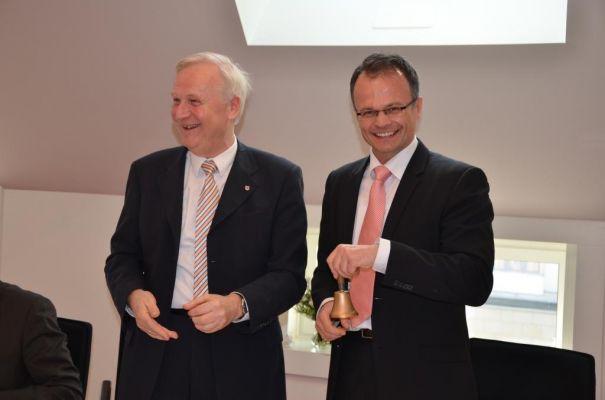 Dieter Dombrowski und Prof. Dr. Michael Schierack