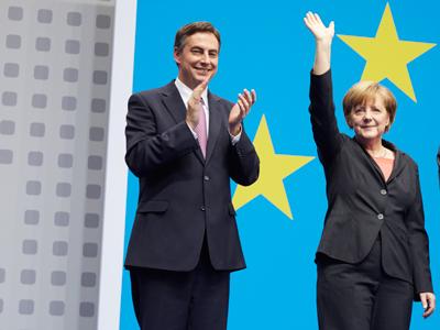 David McAllister und Dr. Angela Merkel
