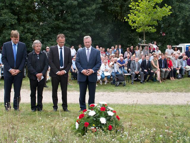 Gedachten der Opfer: Frank Henkel und Michael Schierack, Steeven Bretz und Helmuth Frauendorfer