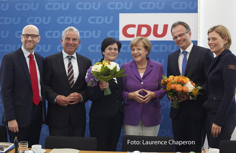 Spitzenkandidat Michael Schierack berichtete in den Gremien der CDU Deutschlands über die Landtagswahl in Brandenburg