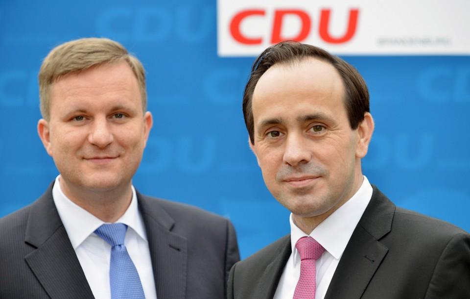 Steeven Bretz und Ingo Senftleben (v.l.)