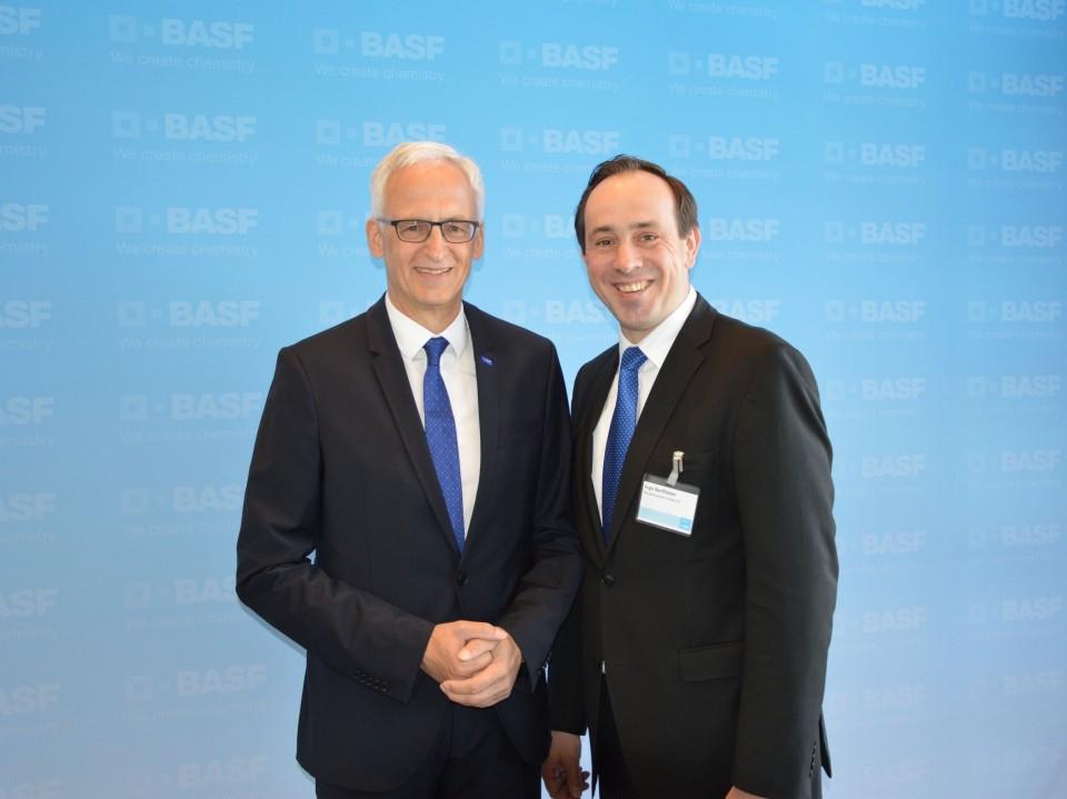Dr. Karl-Heinz Tebel und Ingo Senftleben