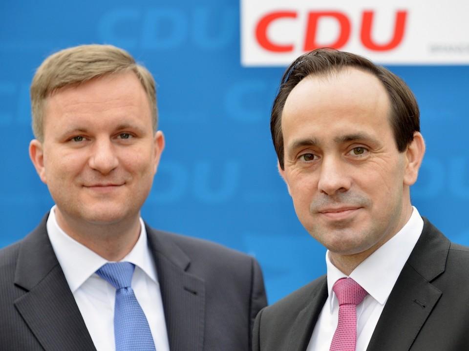 Landesvorsitzender Ingo Senftleben, Generalsekretär Steeven Bretz