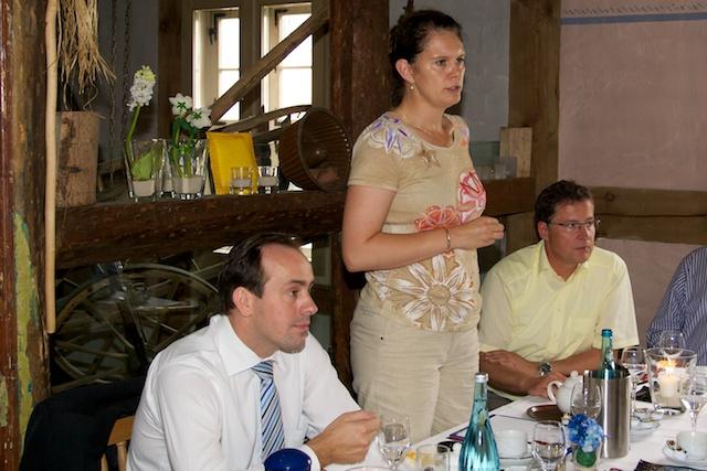 Saskia Ludwig bei Ihrem Redebeitrag
