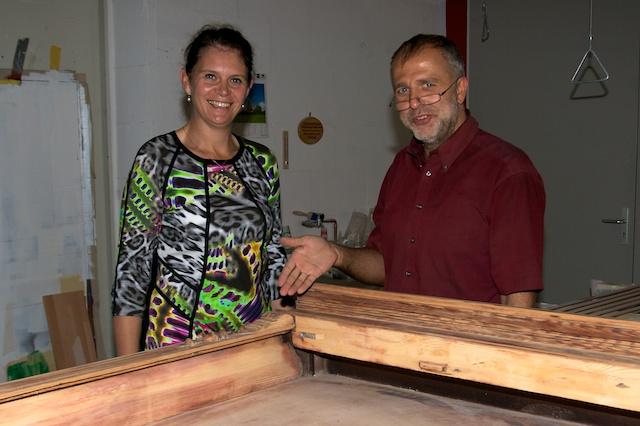 Dr Saskia Ludwig und Matthias Templin